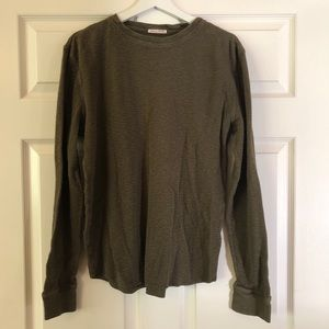 Lucky Brand Lived In Thermal Shirt. Size Large